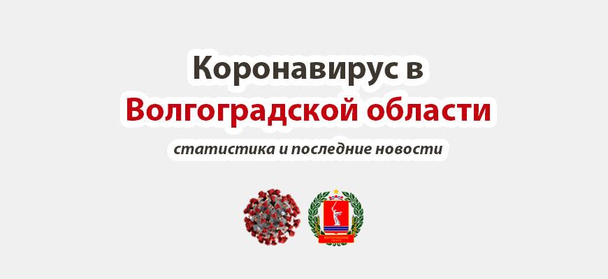 Коронавирус в Волгоградской области