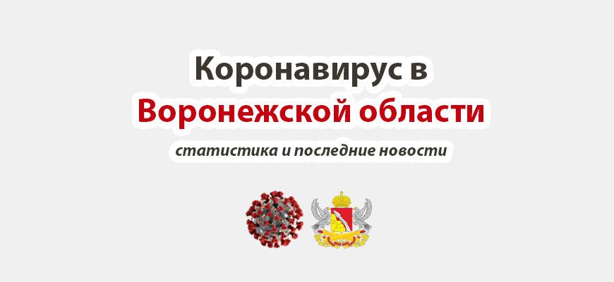 Коронавирус в Воронежской области