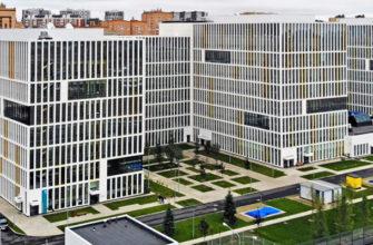Коронавирусная больница в Коммунарке