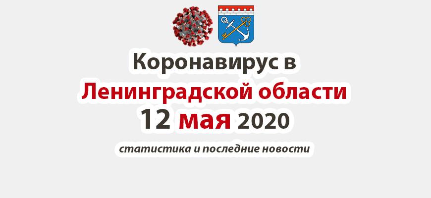 Коронавирус в Ленинградской области 12 мая 2020