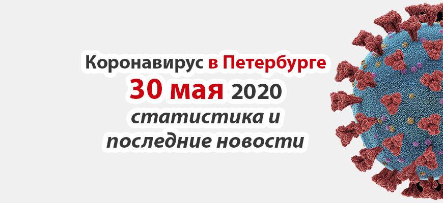Коронавирус в Санкт-Петербурге на 30 мая 2020 года