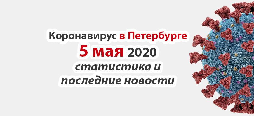 Коронавирус в Петербурге на 5 мая 2020 года