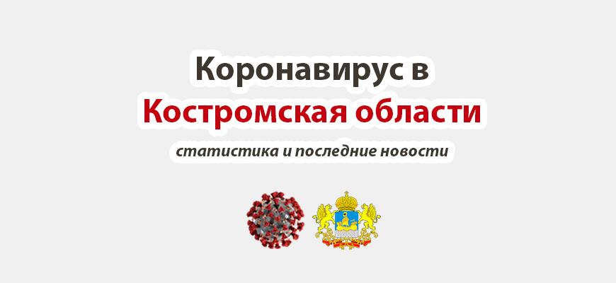 Коронавирус в Костромской области