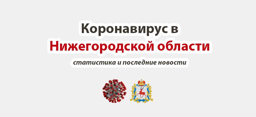 Коронавирус в Нижегородской области