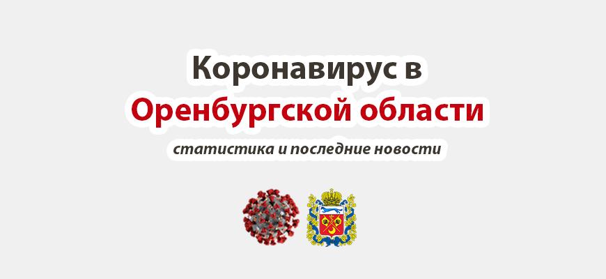 Коронавирус в Оренбургской области