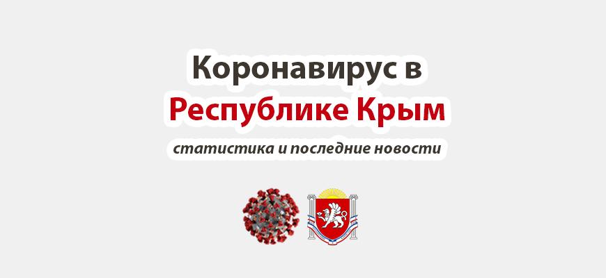 Коронавирус в Республике Крым