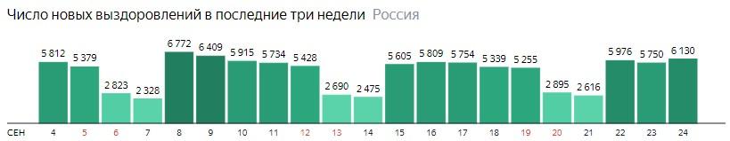 Коронавирус в России 24 сентября: сколько заболевших на сегодня, последние новости распространения