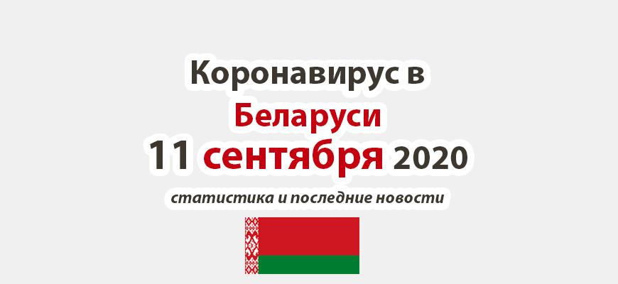 Коронавирус в Беларуси на 11 сентября 2020 года