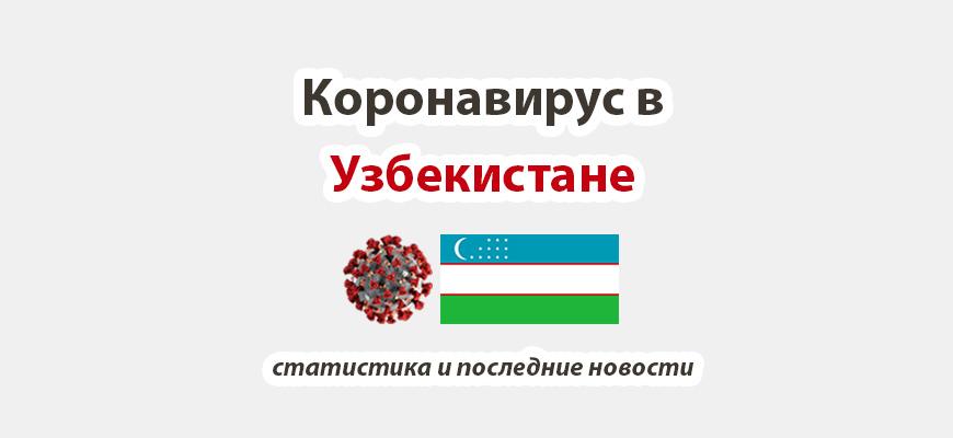 Коронавирус в Узбекистане