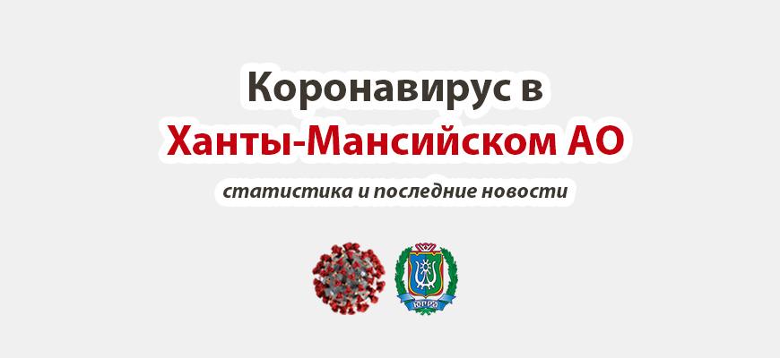 Коронавирус в Ханты-Мансийском AO