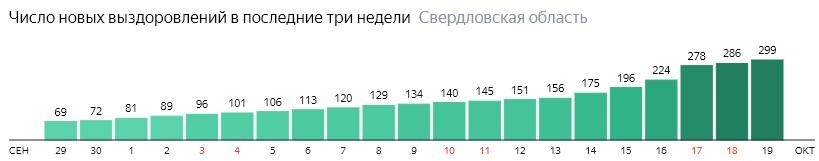Коронавирус в Свердловской области 19 октября: сколько заболевших на сегодня и последние новости