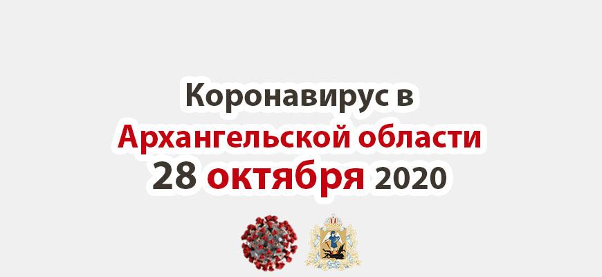 Коронавирус в Архангельской области 28 октября 2020