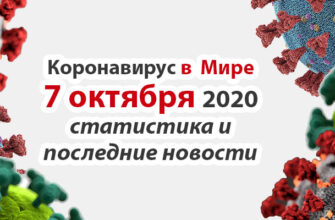 Коронавирус в США на 7 октября 2020 года