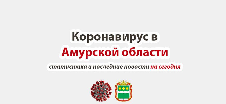 Коронавирус в Амурской области на сегодня