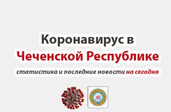 Коронавирус в Чеченской Республике на сегодня