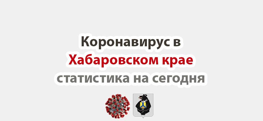 Коронавирус в Хабаровском крае статистика на сегодня