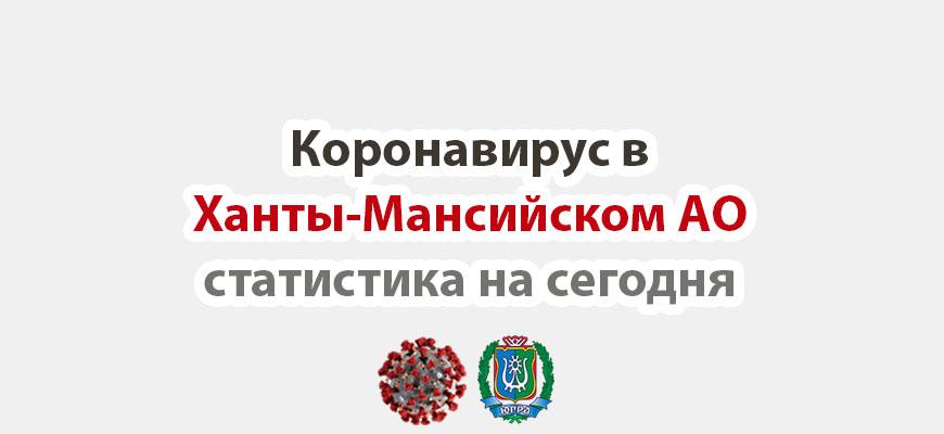 Коронавирус в Ханты-Мансийском АО статистика на сегодня