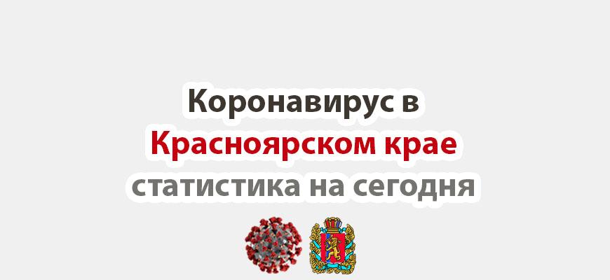 Коронавирус в Красноярском крае на 6 ноября 2020 годаКоронавирус в Красноярском крае статистика на сегодня