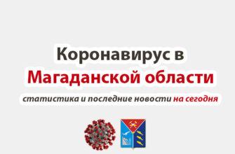Коронавирус в Магаданской области на сегодня