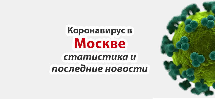 Коронавирус в Москве на сегодня