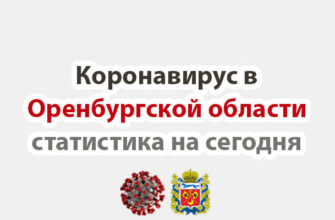 Коронавирус в Оренбургской области статистика на сегодня