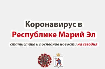Коронавирус в Республике Марий Эл на сегодня