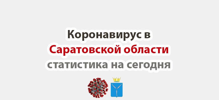 Коронавирус в Саратовской области статистика на сегодня
