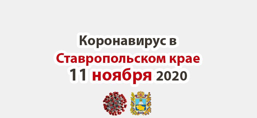 Коронавирус в Ставропольском крае на 11 ноября 2020 года