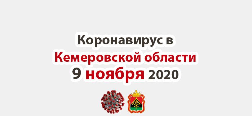 Коронавирус в Кемеровская области 9 ноября 2020