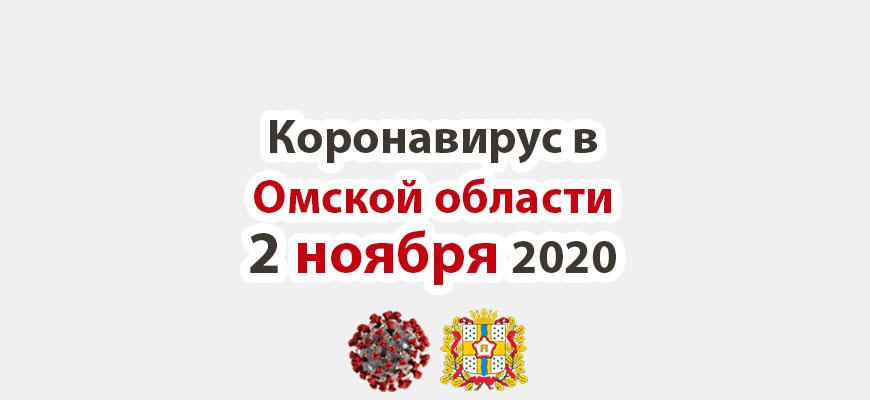 Коронавирус в Омской области 2 ноября 2020