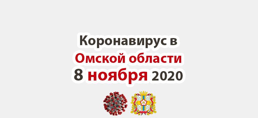 Коронавирус в Омской области 8 ноября 2020