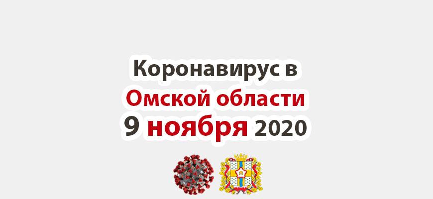 Коронавирус в Омской области 9 ноября 2020