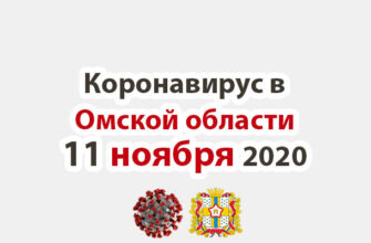 Коронавирус в Омской области 11 ноября 2020