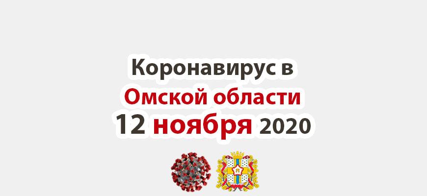 Коронавирус в Омской области 12 ноября 2020