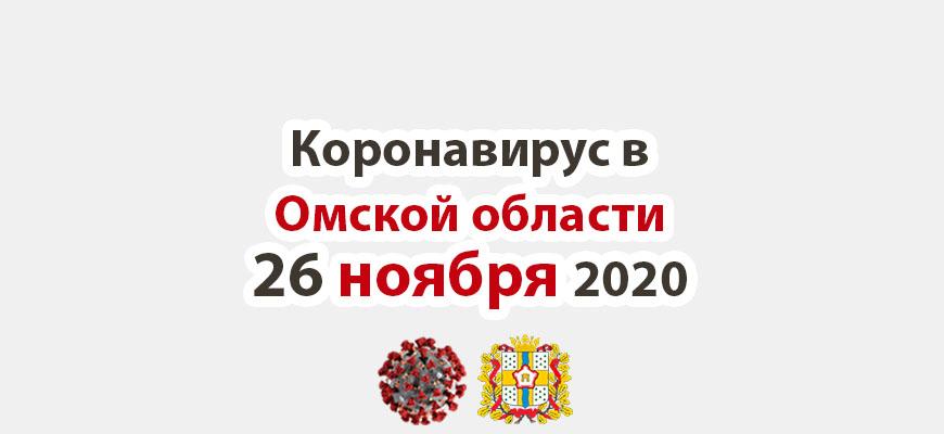 Коронавирус в Омской области 26 ноября 2020