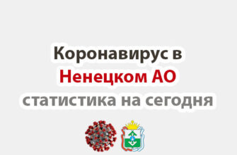 Коронавирус в Ненецком АО на сегодня