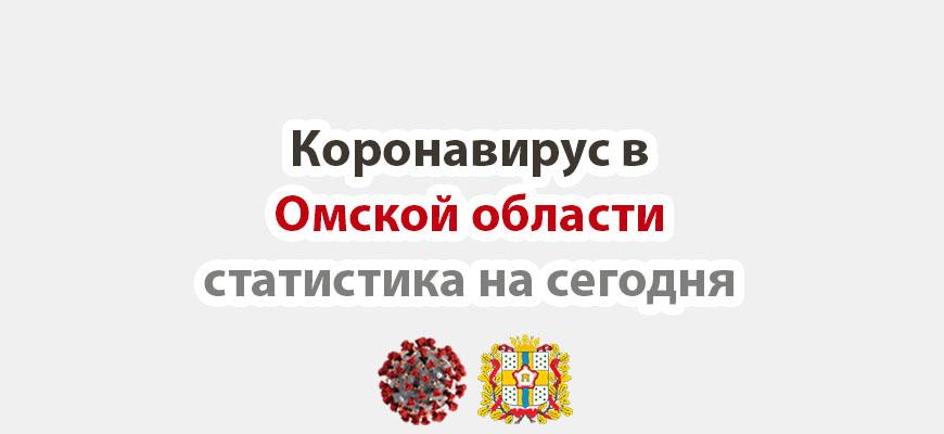 Коронавирус в Омской области статистика на сегодня