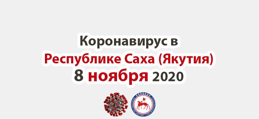 коронавирус в Республике Саха (Якутия) 8 ноября 2020