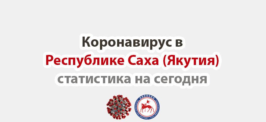 коронавирус в Республике Саха (Якутия) статистика на сегодня