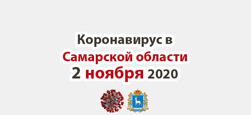 Коронавирус в Самарской области 2 ноября 2020