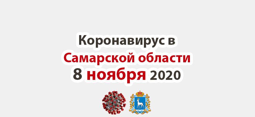 Коронавирус в Самарской области 8 ноября 2020