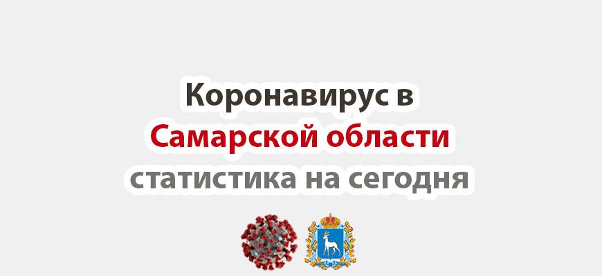 Коронавирус в Самарской области статистика на сегодня