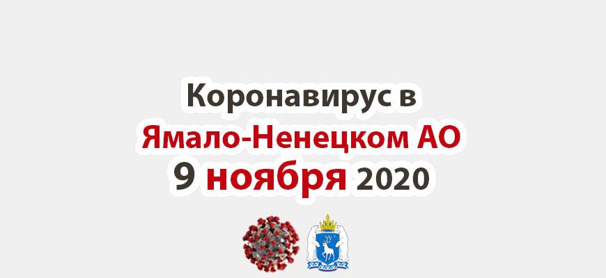 Коронавирус в Ямало-Ненецком АО 9 ноября 2020