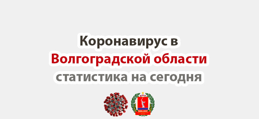 Коронавирус в Волгоградской области статистика на сегодня