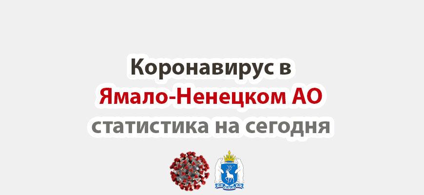 Коронавирус в Ямало-Ненецком АО статистика на сегодня